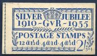 BB16 2/- Jubilee booklet complete Edition no.304 UNMOUNTED MINT/MNH
