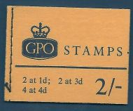 sg N30pa 2/- Wildings GPO booklet with all panes Oct 1967 UNMOUNTED MINT/MNH