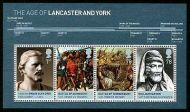 MS2818 2008 Age of Lancaster and York miniature sheet UNMOUNTED MINT/MNH