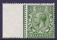 N14(11) variety ½d Deep Bright Yellow-Green with copy RPS cert UNMOUNTED MINT