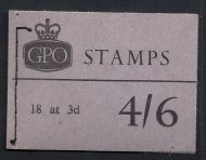 L57 4/6 Mar 1965 Wilding GPO Booklet complete with all panes MNH