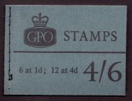 L59 4/6 July 1965 Wilding GPO Booklet complete with all panes MNH