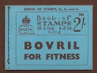 BC2 2/- Booklet Edition 384 - Drages Advert Pane Inv UNMOUNTED MINT