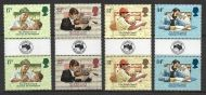 GB 1984 AUSIPEX Gutter pairs Sg 1263-1266 UNMOUNTED MINT/MNH