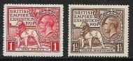1924 George V Wembley set (Line) UNMOUNTED MINT/MNH