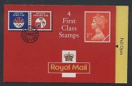 HB4 1992 Walsall Olympics Booklet 4 x 1st Class - complete