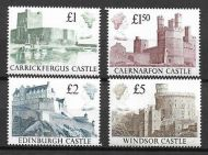 1988 Castles Sg 1410-1413 UNMOUNTED MINT/MNH
