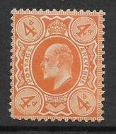Sg 278 M26(1) 4d Bright Orange Harrison Perf 14 UNMOUNTED MINT