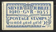 BB16 2/- Jubilee booklet complete Edition no.303 UNMOUNTED MINT