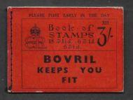 BC3 3/- 1936 Booklet Edition 321 - advert Dubarry Nuglandin Cream
