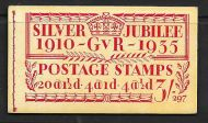 BB28 3/- Jubilee booklet complete no.297 UNMOUNTED MINT - MNH