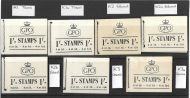 K1-K3a 1/- GPO Booklets - full K series set of 7 Booklets UNMOUNTED MINT