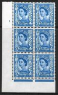 Sg XJ5 4d Jersey Crowns Cyl 1 No Dot perf FL (I/E) UNMOUNTED MINT