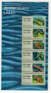 2013 Lakes - Freshwater Life II (2) post  Go PG 12 UNMOUNTED MINT