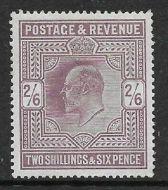 Sg 316 M50(4) 2/6 Pale Dull Reddish Purple Somerset House UNMOUNTED MINT