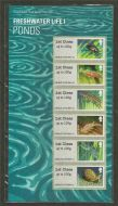 2013 Ponds - Freshwater Life I (1) post  Go PG 11 UNMOUNTED MINT
