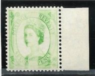 S115 7d Wilding Edward variety - Dr Blade Flaw UNMOUNTED MINT MNH