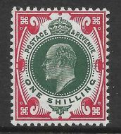Sg 313 M47(2) 1 - Deep Green  Scarlet Somerset House UNMOUNTED MINT MNH