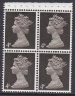 UB10 Pre-decimal Machin Booklet Pane Perf I 1 2v - UNMOUNTED MINT MNH