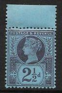 Sg 201 Spec K31(3) 2½d Deep Purple on Blue paper Jubilee UNMOUNTED MINT