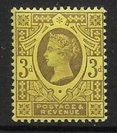 3d Spec K32(1) Purple Yellow Jubilee single UNMOUNTED MINT MNH