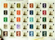 LS40 GB 2007 40th Anniversary Machin Smiler sheet UNMOUNTED MINT MNH