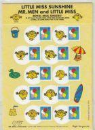 2009 Little Miss Sunshine A5 Smiler sheet pack for kids UNMOUNTED MINT