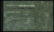 GB Prestige Booklet DX38 2007 World of Invention booklet SUPER CONDITION