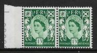 Sg XS24a 1 3 Scotland with variety - Broken Oblique in value UNMOUNTED MINT