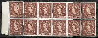 S38g 2d Wilding Edward Crown with variety - cyl 6 Tadpole flaw UNMOUNTED MINT