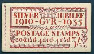 BB28 3/- Jubilee booklet complete no.295 UNMOUNTED MINT/MNH