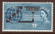 1963 Commonwealth Cable Commemorative Phosphor UNMOUNTED MINT/MNH