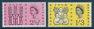 Sg 634p -635p 1963 Freedom from hunger Phosphor set of 2 UNMOUNTED MINT/MNH