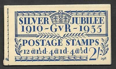 BB16 2/- Jubilee booklet complete no.298  UNMOUNTED MINT/MNH