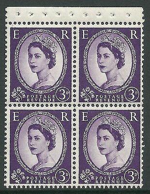 SB94 Wilding booklet pane Crowns On Cream perf type AP UNMOUNTED MNT MNH