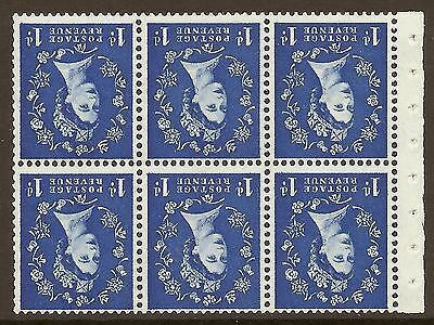 SB30a (ab) 1d Wilding Crowns on Cream variety - spot on d UNMOUNTED MINT MNH