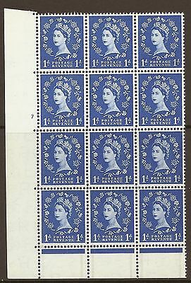 S15 1d Wilding Graphite with unlisted variety - perf shift UNMOUNTED MINT MNH