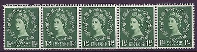 S25m 1½d Wilding Tudor Crown listed variety  UNMOUNTED MINT MNH