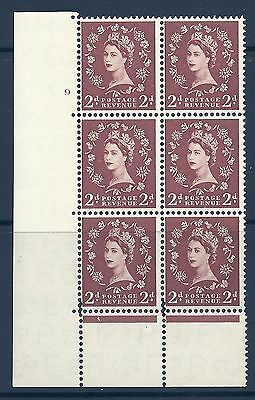 S38 2d Wilding Edward withmajor perf encroachment type C(E P) UNMOUNTED MINT