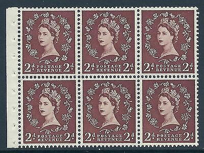 SB78f 2d Wilding listed variety - White flaw on Thistle R.1 1 UNMOUNTED MINT MNH
