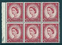 SB81a(ae) 2½d Wilding Edward variety - Dotted R  R.1 3 MOUNTED MINT