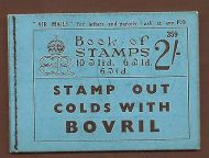 BC2 2/- Booklet Edition 359 - advert Dubarry mandolin player UNMOUNTED MINT