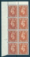 Sg 503 Spec Q3f 1/2d GVI Colour change with variety UNMOUNTED MINT/MNH