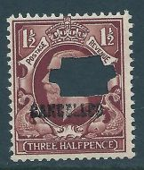 Sg N52v var 1½d Photogravure intermediate format with cancelled UNMOUNTED MINT