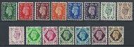Sg 462-475 KGV1 Dark Colour set of 15 UNMOUNTED MINT/MNH
