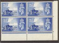 Sg C2c 1948 Channel Islands listed variety - Broken wheel UNMOUNTED MINT
