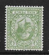 Sg 427wi 9d Olive Block Cypher Wmk Inverted UNMOUNTED MINT/MNH