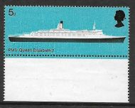 Sg 778c 1969 5d Ships variety - Red Omitted UNMOUNTED MINT