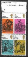 1970 5d Literary Anniversaries - with varieties UNMOUNTED MINT