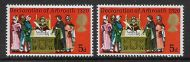 1970 General Anniversaries 5d with shift of red to right UNMOUNTED MINT